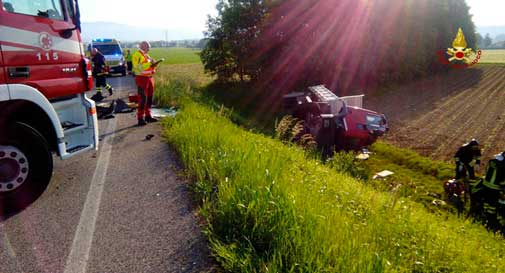 Un morto in incidente nel trevigiano