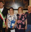 Quattro generazioni della famiglia Beraldo accolte in municipio. In parte erano emigrate in Canada