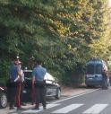 le forze dell'ordine stasera davanti all'ex caserma Zanusso