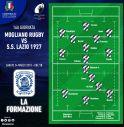 la formazione del Mogliano Rugby per la gara contro la Lazio