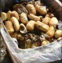 il cibo nei bidoni della spazzatura a Oderzo