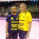 Coach Santarelli con Samanta Fabris