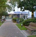 l'ingresso dell'ospedale Oras di Motta