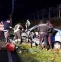 incidente stradale posto di blocco