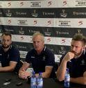 la conferenza stampa di Bloemfontein