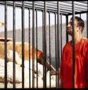 Un'immagine del pilota giordano tratta dal filmato diffuso dall'Is