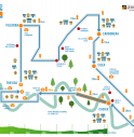 il percorso della Treviso Marathon 2018