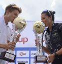 Mirko Lazzaretto (Rari Nantes Marostica) e Sharon Spimi (TTR)