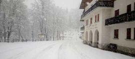 Arriva la neve, stato di attenzione per nevicate in Veneto