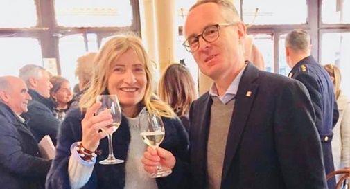 La consigliera Grazia Azzolin e Mauro Migliorini, sindaco di Asolo