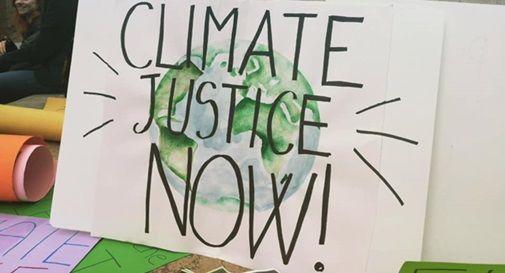 """""""Allerta fiumi causata del cambiamento climatico. Basta consumo del suolo"""""""