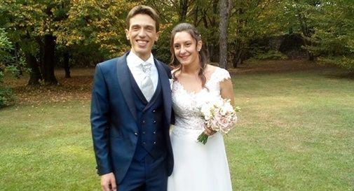 Davide Daniel è convolato a nozze con Jessica
