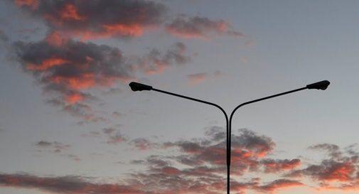 Lampioni spenti