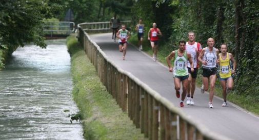 immagine di un'edizione passata della corsa di Volpago