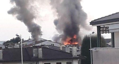 """Incendio a Riese, per l'Arpav """"la situazione è tornata alla normalità"""""""