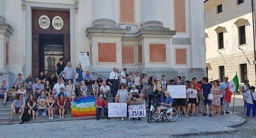 A Castelfranco cittadini in piazza per Carola