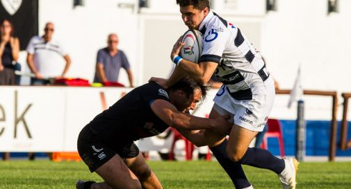 il mediano di mischia Federico Gubana del Mogliano Rugby