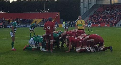una fase del match a Cork