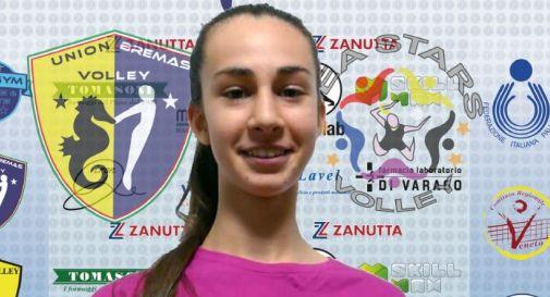 Gaia Spadotto in Nazionale  Pre - Juniores Under 16