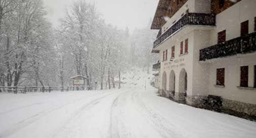 Neve in Cansiglio e Pizzoc