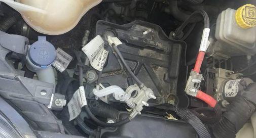 batteria dell'auto rubata in pieno centro a Oderzo