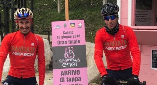 Da sinistra: Franco Pellizzotti e Vincenzo Nibali