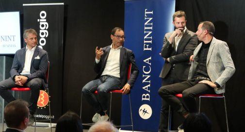 da sinistra: Fauner, Cassani, Tavelli e Ballan