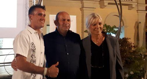 Da sinistra: Cassina, Favero e Idem