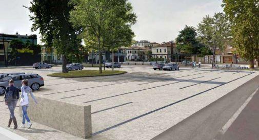 la nuova piazza Donatori