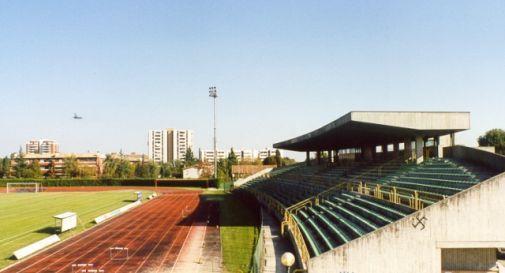lo stadio comunale di Mogliano