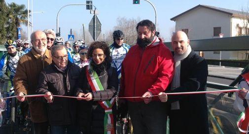 Inaugurata domenica la pista ciclopedonale tra Mogliano e Zerman