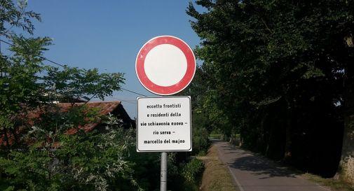 chiusura strada