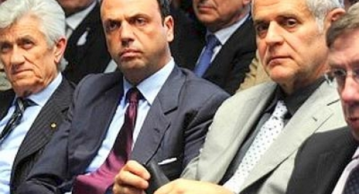 Angelino Alfano e Roberto Formigoni