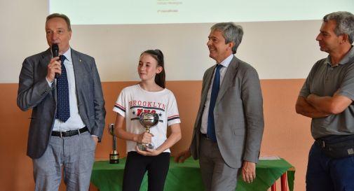 la vincitrice Ilaria De Noni dell'Istituto Mantegna