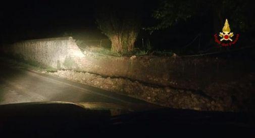 crollo muro villa barbaro