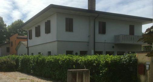 l'abitazione di Busco che ospita gli immigrati