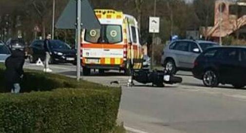 l'incidente di ieri pomeriggio a Oderzo