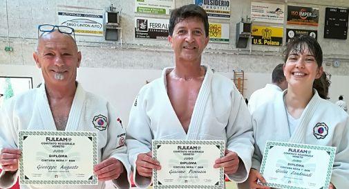 Giuseppe Augusto, Giulia Zandonadi e Giacomo Perenzin