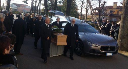 il funerale di Francesco Visotto
