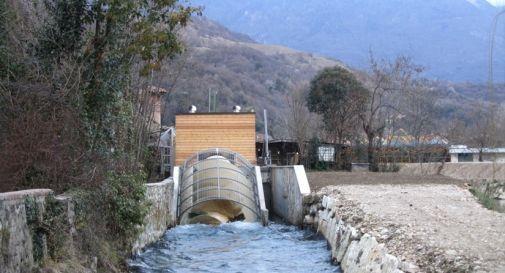 Ennesima nuova centralina sul Meschio località La Sega
