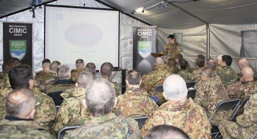 A Motta esercitazione militare internazionale