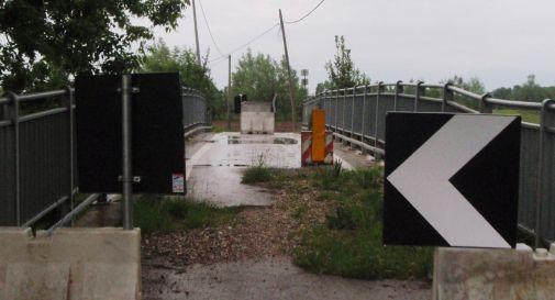 il ponte dea Toa quand'era chiuso
