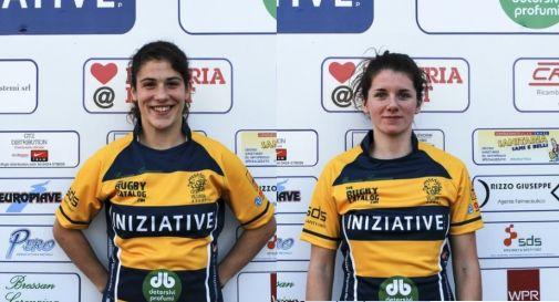 a sinistra Aura Muzzo, a destra Silvia Polesello