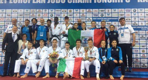 la nazionale italiana a Kaunas