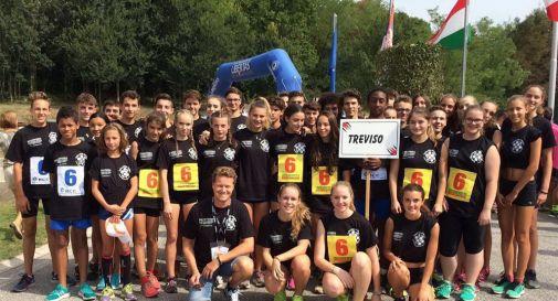 """la rappresentativa trevigiana in gara nel 2016 al Trofeo """"Città di Majano"""""""