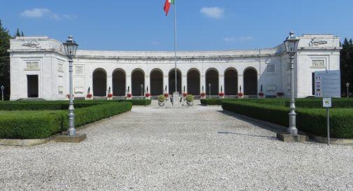 il sacrario militare di Fagarè di San Biagio