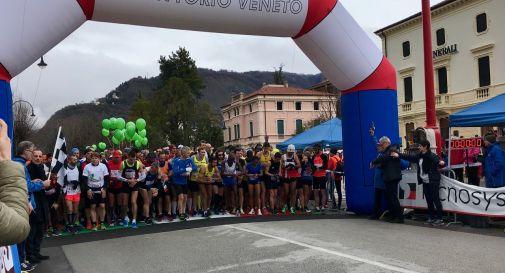 partenza della Maratonina della Vittoria 2018