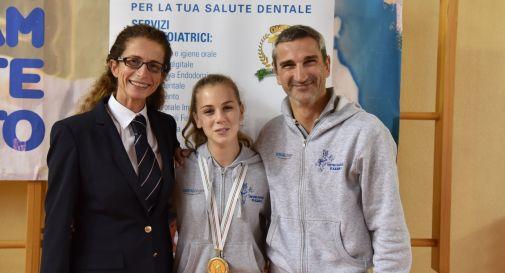 Maurizia Sbeghen (giudice), Vanessa Mazzonetto ed il coach Paolo Nave