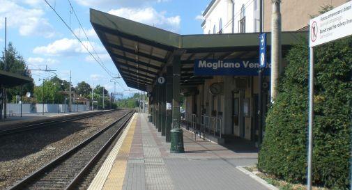 la stazione ferroviaria di Mogliano
