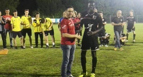 Dal Senegal ad Asolo per sfuggire alle persecuzioni, Momo premiato come miglior giocatore